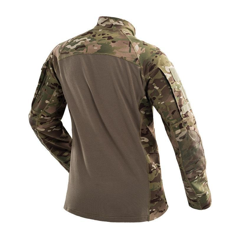 Camouflage Paintball Long Shirt