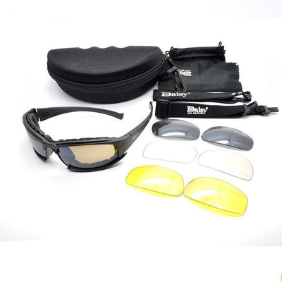 Nemesis - Polarized X7 Tactical Shatterproof USA Military Goggles
