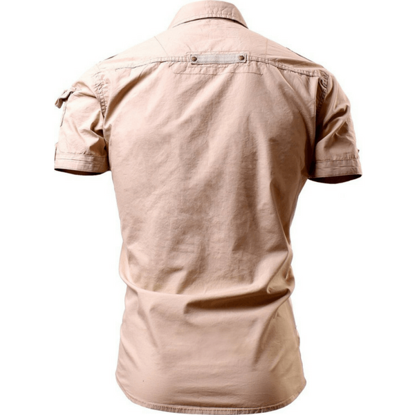 Casual Military Shirt - Short Sleeve