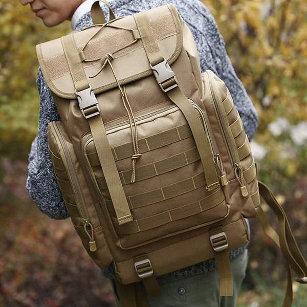 Exodus™ - Military Style Outdoor Bag with MOLLE Webbings - 40L