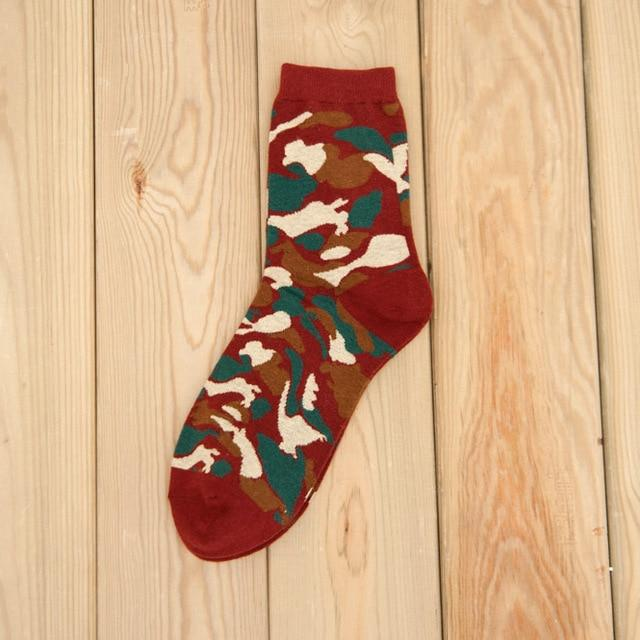 Classic Camouflage Socks