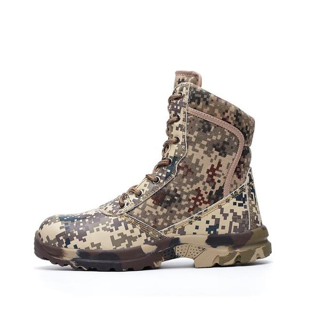 Desert Camouflage Boots