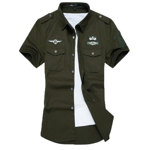 Military Shirt - Short Sleeve