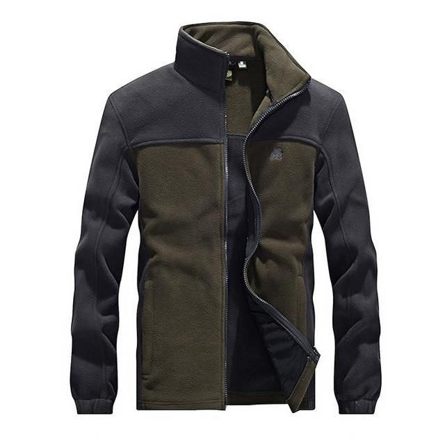 Fleece Military Jacket