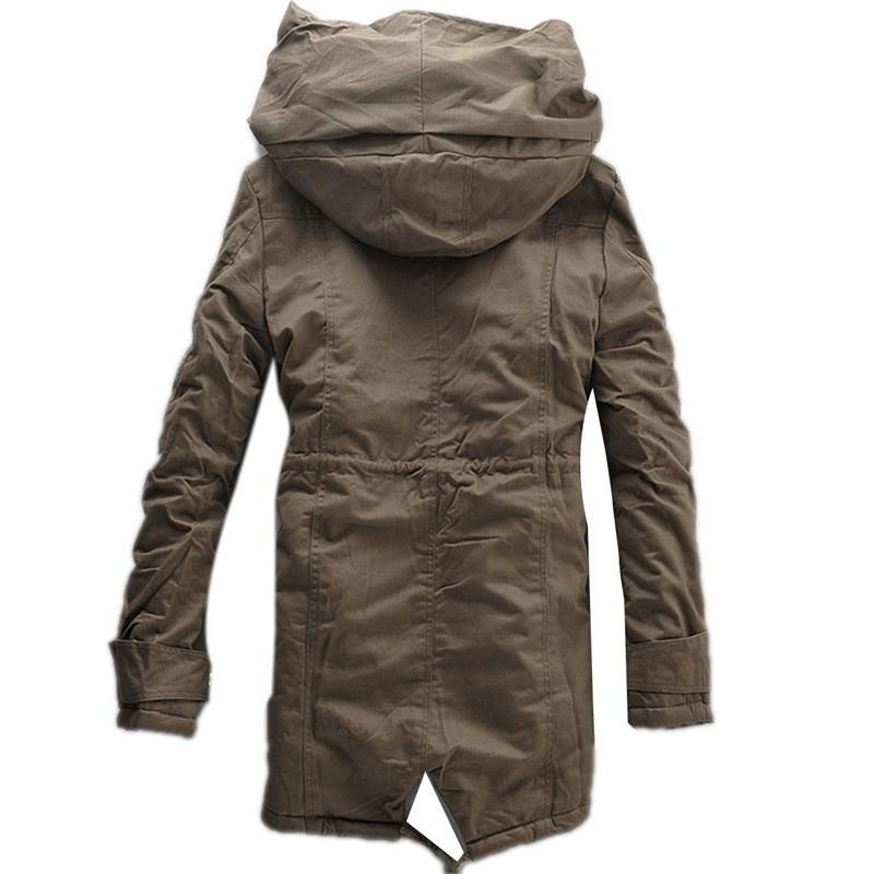 Parka Thick Warm Zipper Jacket