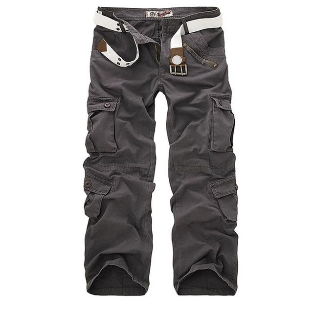 Loose Multi-Pocket Pants