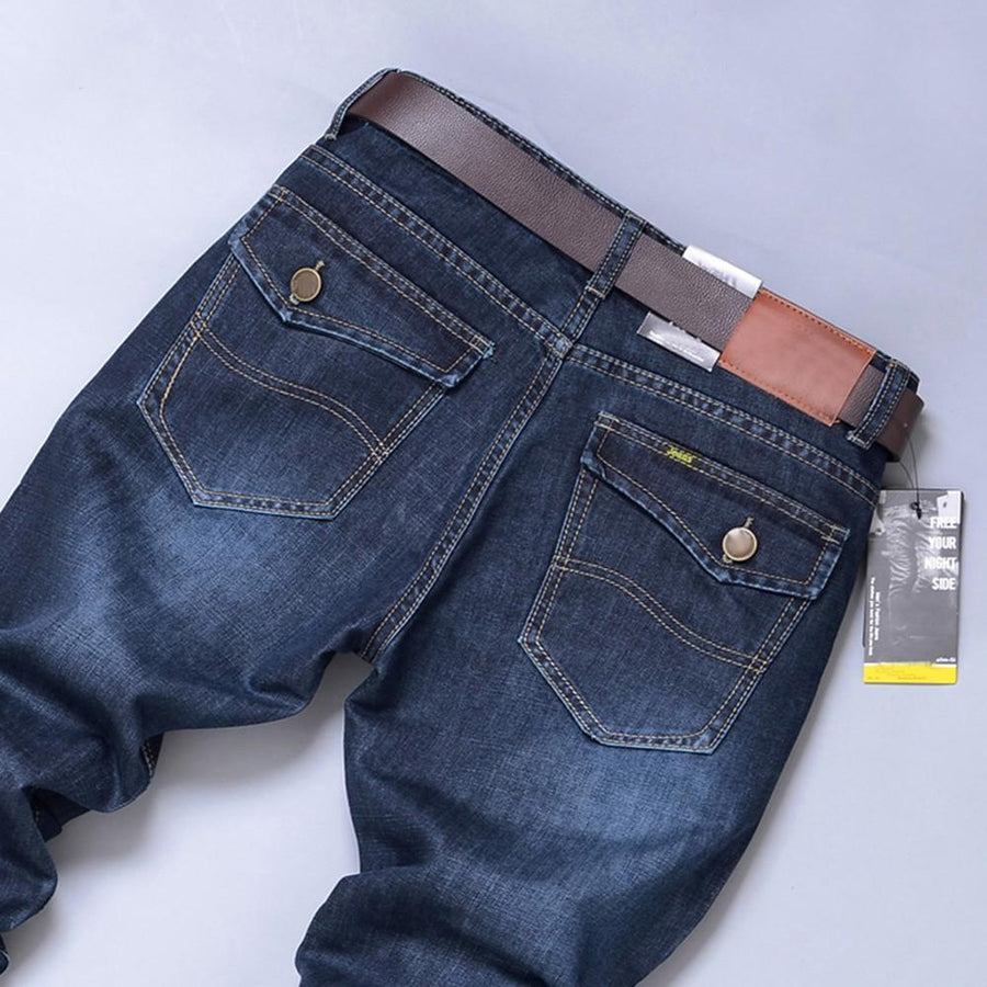 Denim Hip Hop Blue Pants