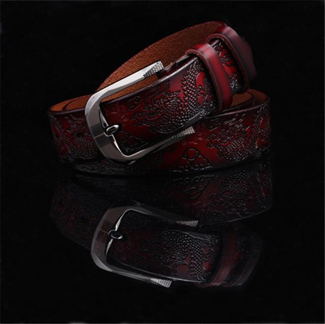 Dragon Grain Wide Belt