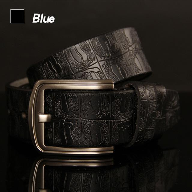 Retro Pin Buckle Belt