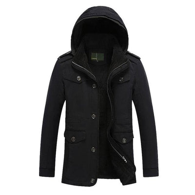 Military Fleece Winter Jacket