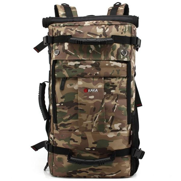 50L Military Army Camo Backpack