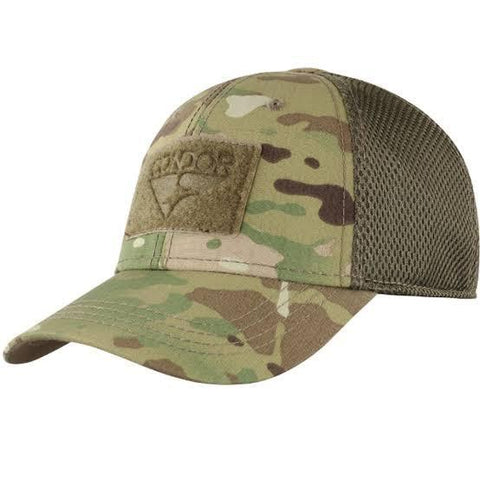 Scorpion Projects Small/Medium Condor Flex Mesh Cap - Multicam