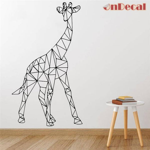 OnDecal Large Geometric Giraffe