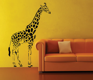 OnDecal Cartoon Giraffe Wall Decal