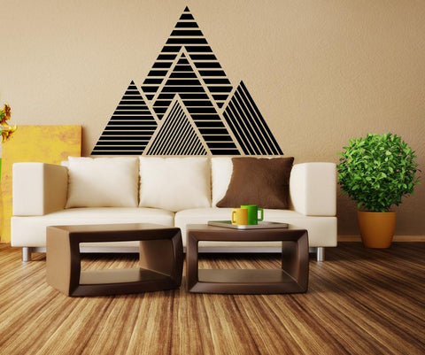 OnDecal Geometric Mountains Vinyl Wall Decal