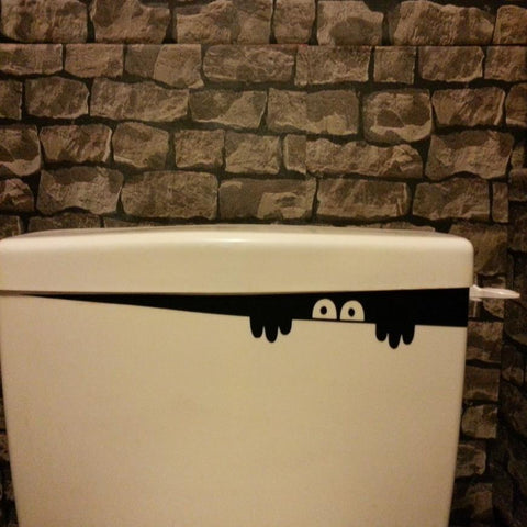 OnDecal Funny Peeking Monster Decal