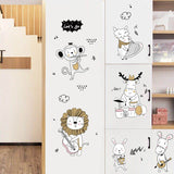 OnDecal Cartoon Animal Music Band Wall Decals