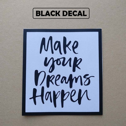 OnDecal Motivational Dream Quote Laptop Decal