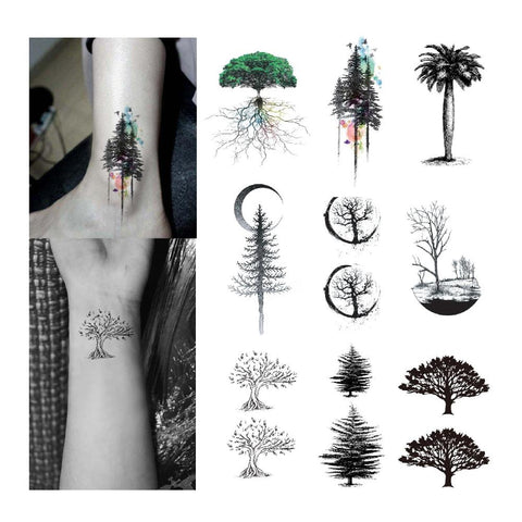 OnDecal Tree Temporary Tattoo