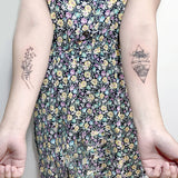 OnDecal Popular Drawing Temporary Tattoos