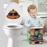 OnDecal Funny Poop Emoji Decal