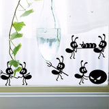 OnDecal Black Ants Wall Decals