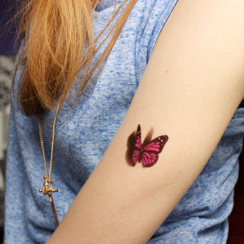 OnDecal 3D Butterfly Tattoo