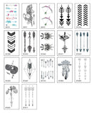OnDecal Arrow Temporary Tattoo