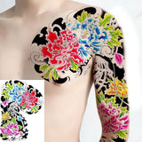 Shoulder Chest Temporary Tattoo