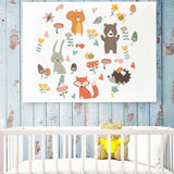 OnDecal Forest Animal Party Wall Decals