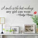 OnDecal Marilyn Monroe inspirational quote