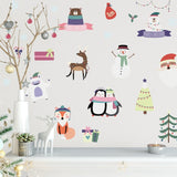OnDecal 18pcs Lightly Colored Wall Decals