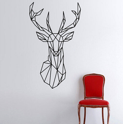 OnDecal Geometric Stag Head