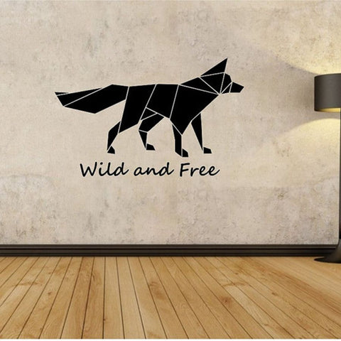 OnDecal Geometric Fox