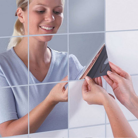 OnDecal Square Mirror Decals