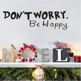 OnDecal Dont Worry Be Happy Wall Decal
