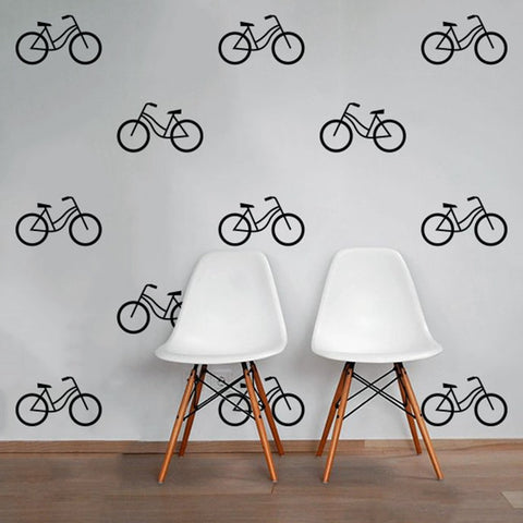OnDecal Modern Bicycle Wall Decals
