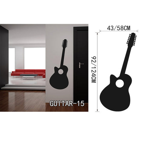 OnDecal Solid Black Guitar