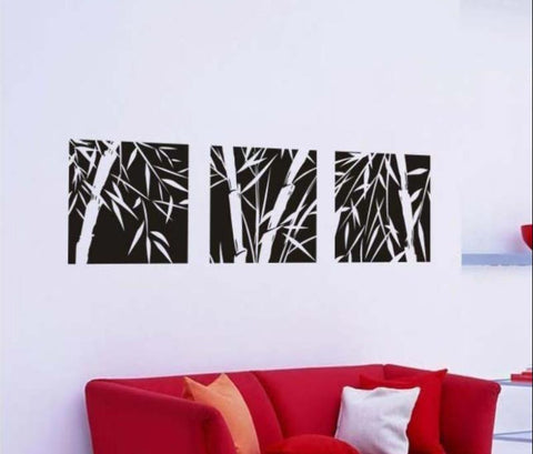 OnDecal Set of 3 Canva Bamboo