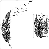 OnDecal Flying Feather