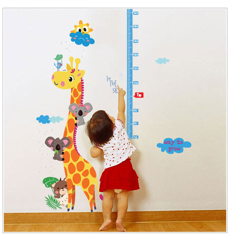 OnDecal Giraffe Measuring