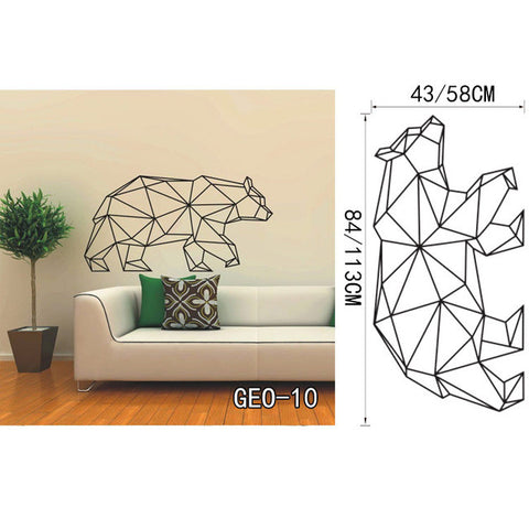 OnDecal Geometric Bear