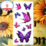 OnDecal Butterfly Temporary Flash Tattoo