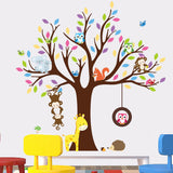 OnDecal Animal Monkeys Tree Wall Decal