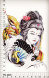 OnDecal Geisha Temporary Tattoo