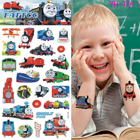 OnDecal Lovely Thomas Temporary Tattoos For Kids