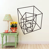 OnDecal Geometric Squares Wall Decals