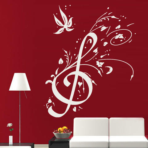 OnDecal Treble Clef