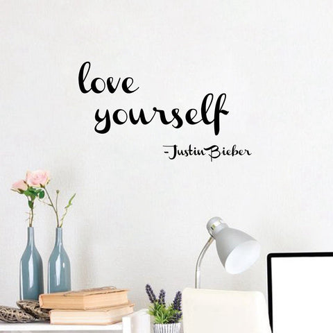OnDecal Love Yourself - Justin Bieber