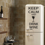 OnDecal Keep Calm Drink Wall Decal